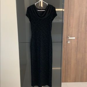 Almost NEW Classic sparkles Black gown